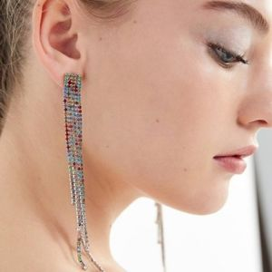 Urban Outfitters Waterfall Drop Earrings